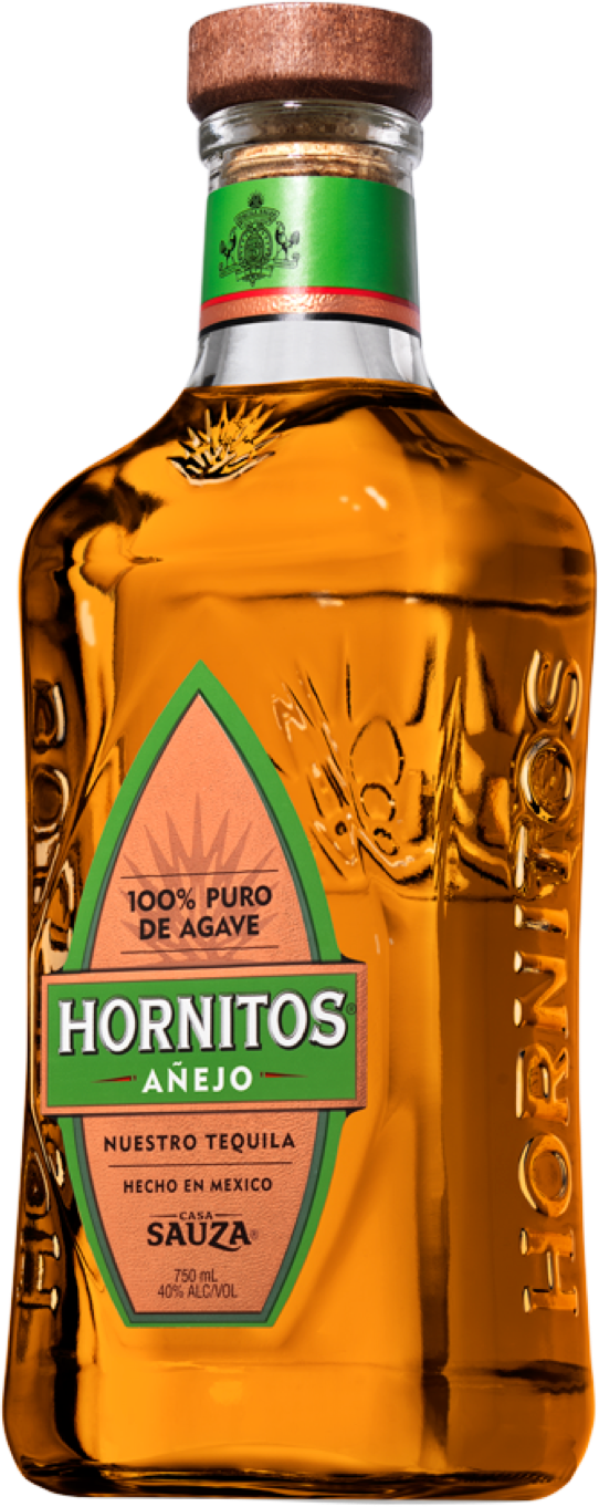 Hornitos Anejo Aged Tequila Bottle