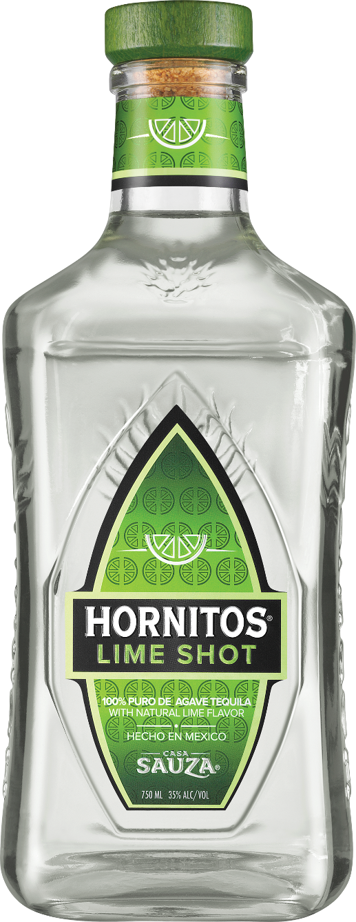 Hornitos Lime Shot Tequila Bottle