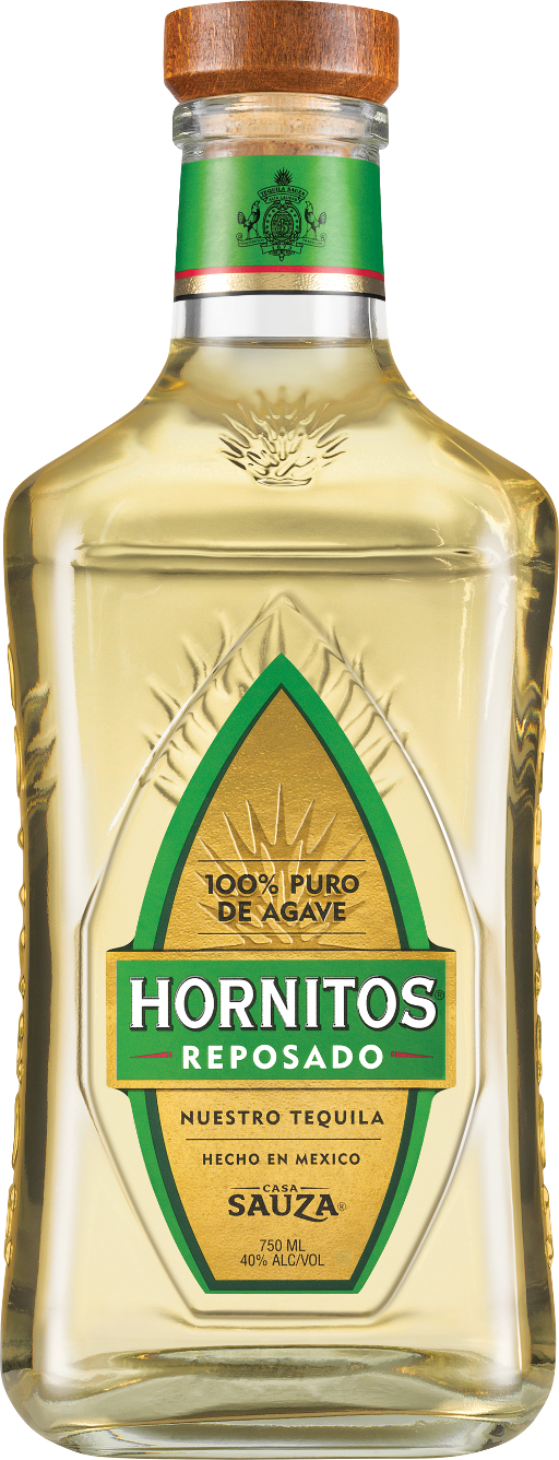 Hornitos Reposado Tequila Bottle