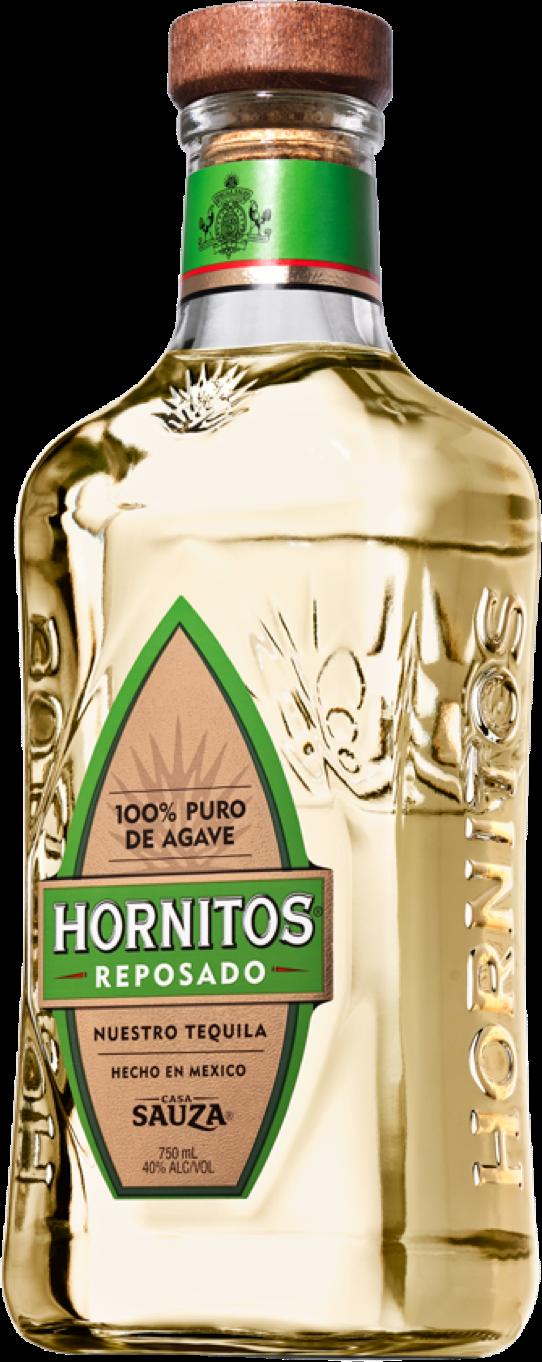 Hornitos Reposado Tequila Bottle